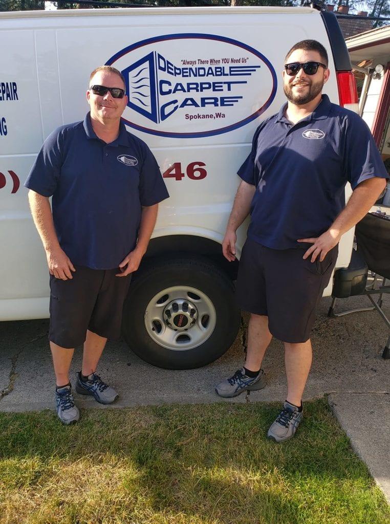 Dependbale Carpet Care Team