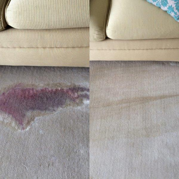Spokane Wine Stain and Red Dye Removal