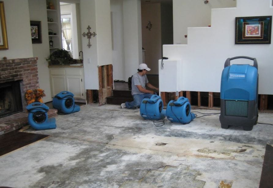 water damage restoration spokane